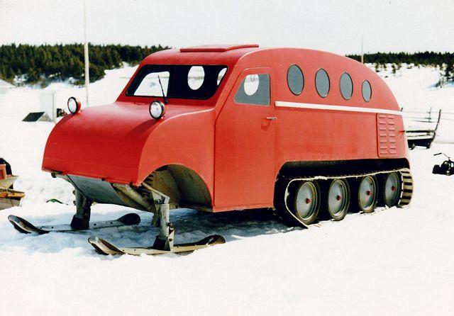 Blattner blog: bombardier snowmobile
